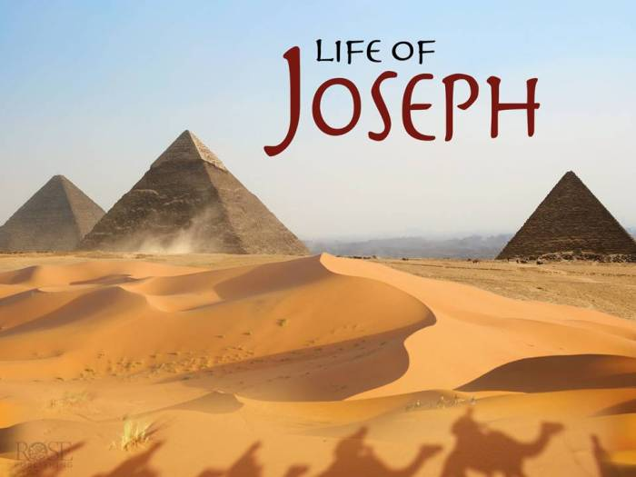 Life Lessons from Joseph